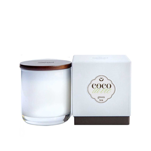 Coco La Vie Green Tea Scented Candle