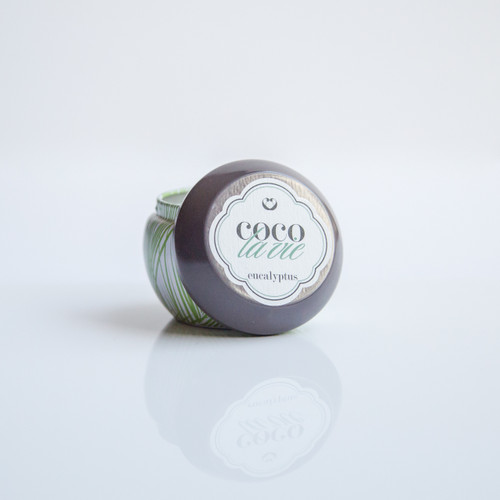 Coco La Vie Eucalyptus Scented Massage Travel Tin