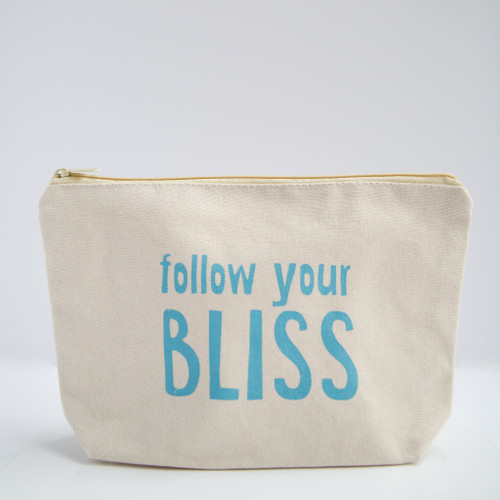 Coco La Vie_Follow Your BLISS cosmetic travel bag