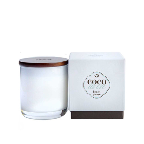 Beach Please Scented Coco La Vie Massage Candle