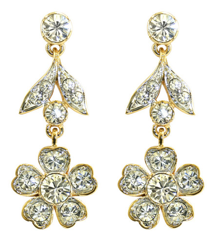 Queen Mary's Stomacher drop earrings
