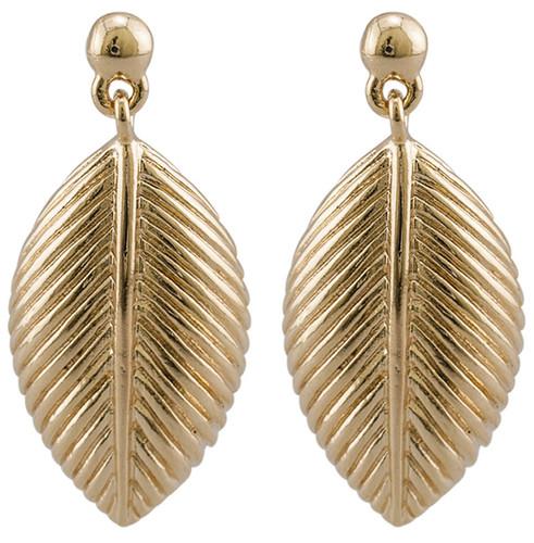 Princess Kate leaf earrings