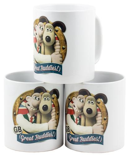 Fine Bone China Mug - UK Made Balmoral Style-Buddies