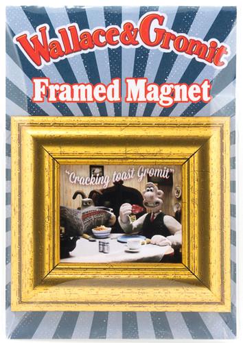 Framed Fridge Magnet-Toast