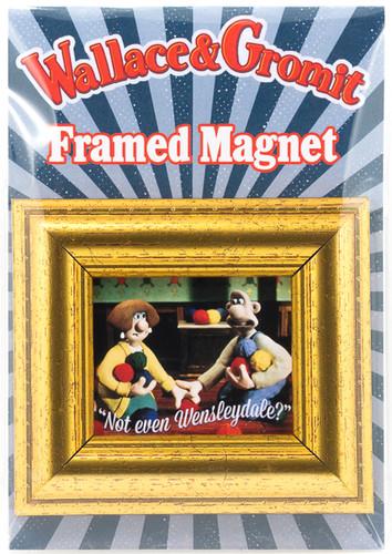 Framed Fridge Magnet-Wool