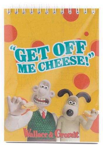Wirobound Notepad-Cheese