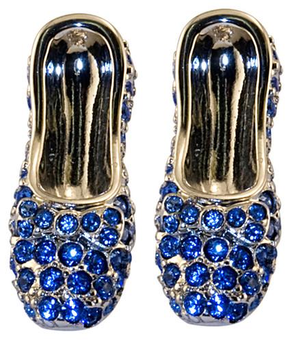 Wizard of OZ Dorothy Earrings Sapphire