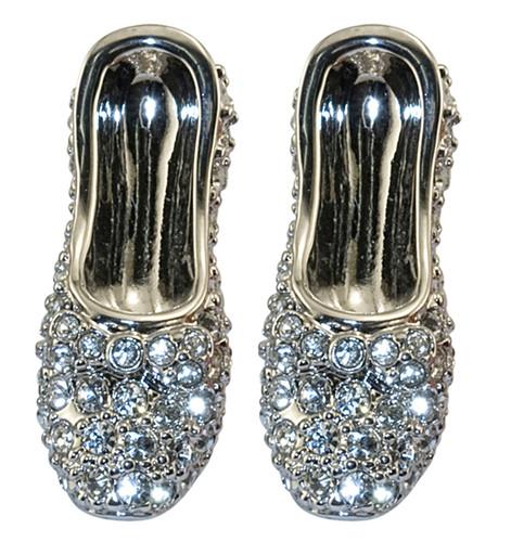 Wizard of OZ Dorothy Earrings Crystal