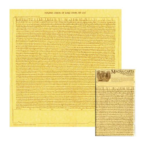 Magna Carta Reproduction Wallchart