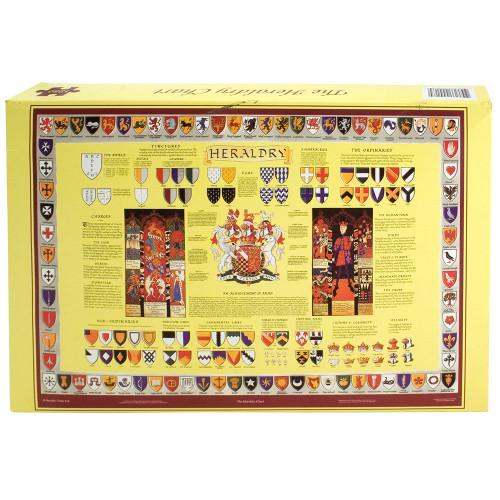 Heraldry Educational Jigsaw - 1250 Pieces