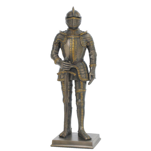 Resin Knight in C16th Tournament Foot Armour