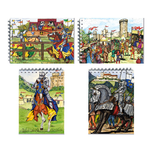 Notepads - Medieval