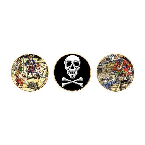 Coasters - Pirate