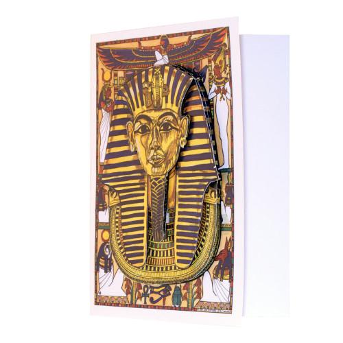 Egyptian Decoupage Card