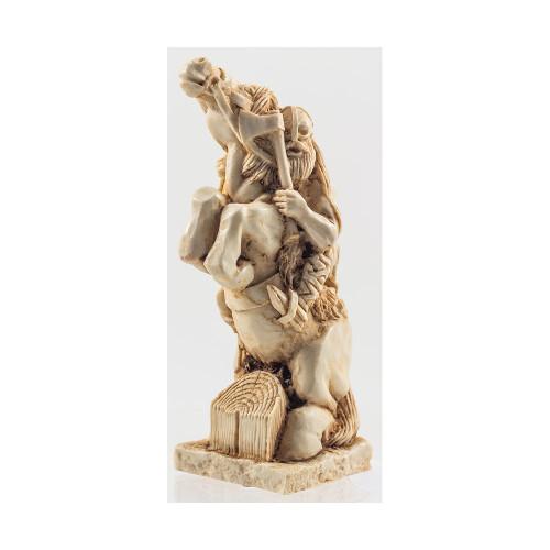 Resin Figurine - Viking Warrior on Horseback
