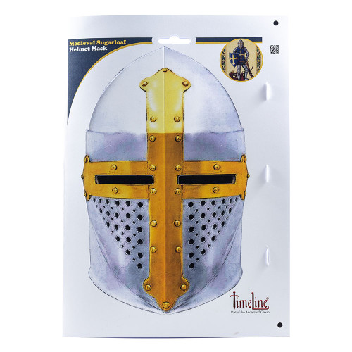 Environmentally Friendly Face Mask - Medieval Helmet