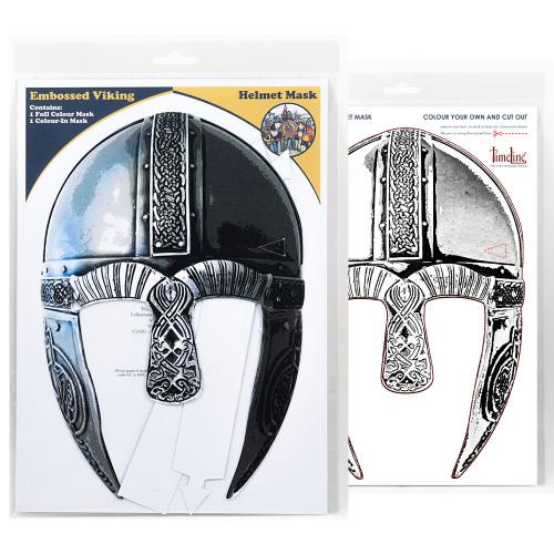 Multi-Purpose Packaged Face Mask - Viking Helmet