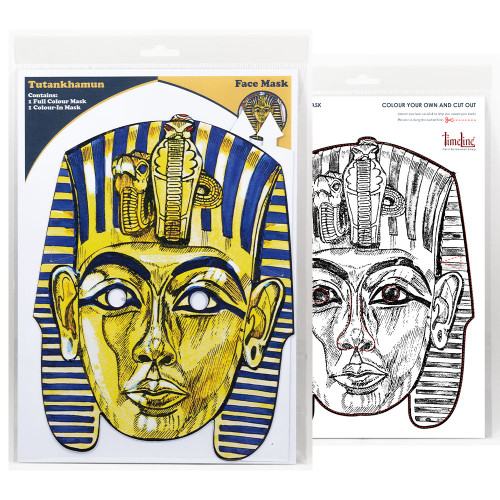Multi-Purpose Packaged Face Mask - Tutankhamun