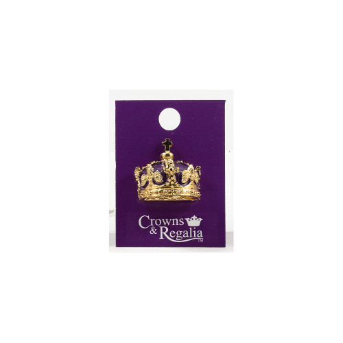 Henry Crown Pin Badge