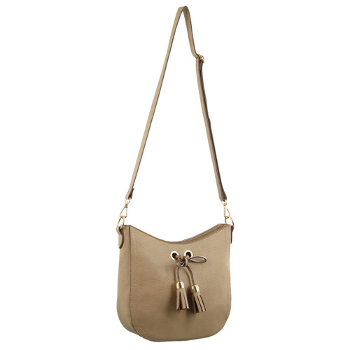 Milleni Cross-Body Handbag in Camel (PV2719)