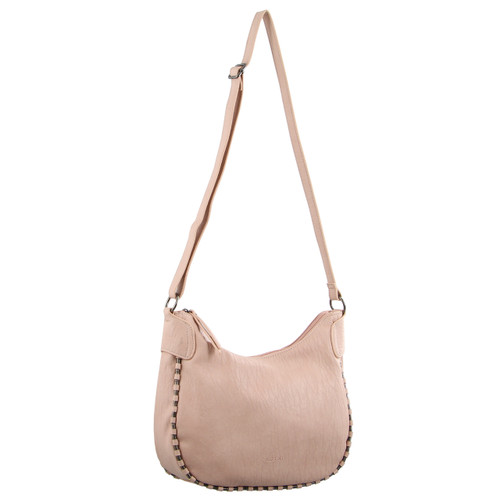 Milleni Ladies Cross-Body Handbag in Blush (PV2904)