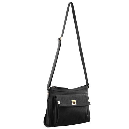 Milleni Fashion Cross-Body Handbag in Black (PV2902)
