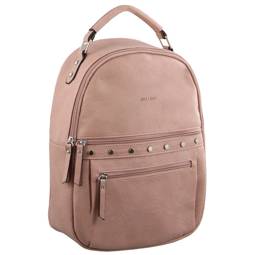 Milleni Fashion Backpack in Blush (NC2894)