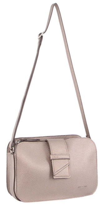Milleni Ladies Cross Body Handbag/Clutch in Bronze (PV3094)