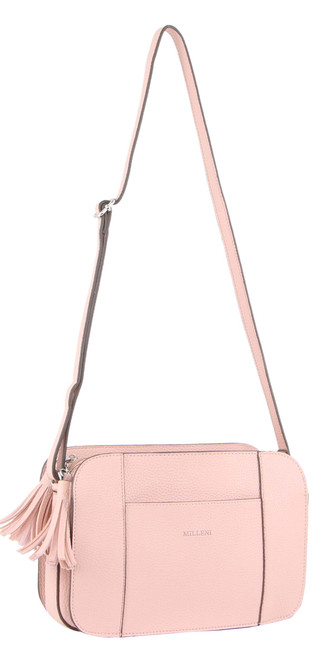 Milleni Ladies Cross Body Handbag in Blush (PV3101)