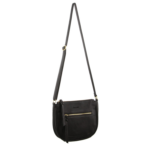 Milleni Fashion Cross-Body Handbag in Black (PV2409)