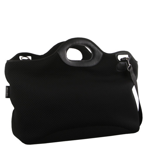 Milleni Neoprene Gym/Overnight Bag in Black (NP2701)