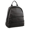 Milleni Backpack with twin front zip pocket in Grey (NC2709)