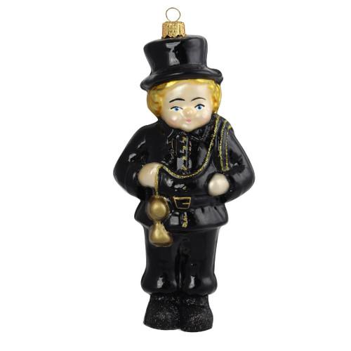 Glass Chimney sweep figurine