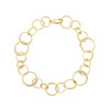 Interlinks Pave Diamond Bracelet