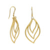 Athena Drop Leaf Trio Earrings