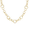 Interlinks Pave Diamond Necklace