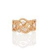 Florette Diamond Band in Rose Gold