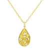 Florette Diamond Drop Pendant