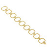 Large Interlinks Pave Diamond Square Bracelet