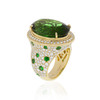 Green Tourmaline Bespoke Ring