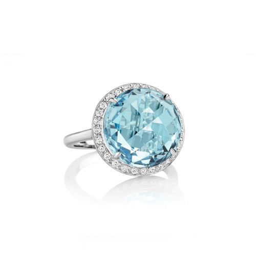 Carey Blue Topaz Ring