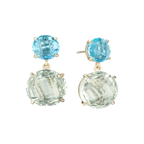Blue Topaz Summer Fun Signature Earrings
