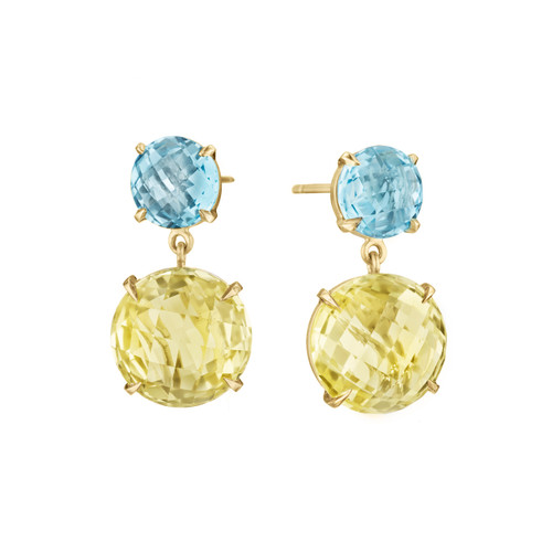 Lemon Quartz Summer Fun Signature Earrings