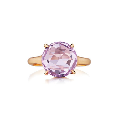 rose de france signature ring in rose gold