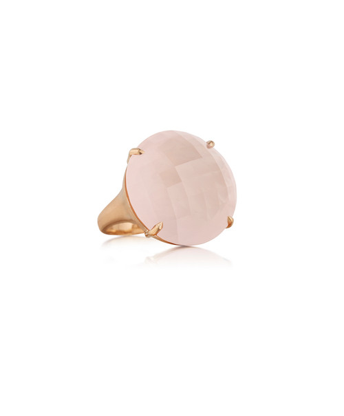 Rose Quartz Jumbo Signature Ring