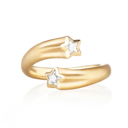 Whirl Shooting Star Ring