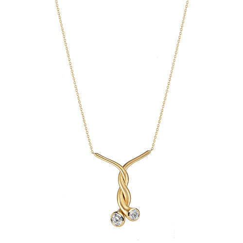 Small Whirl Necklace