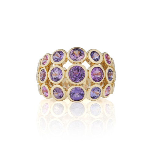Disco Dots Color Sapphire Band