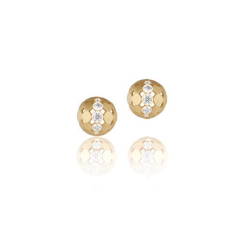 Disco Dots Stud Earrings