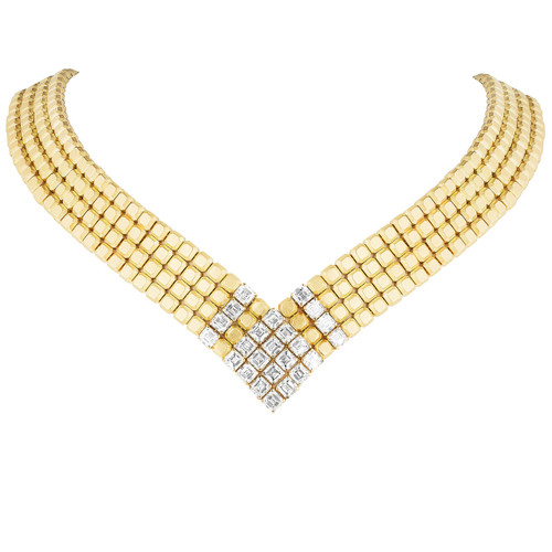 Pixels Collar Necklace
